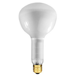 500 Watt - R52 - Reflector Flood - 130 Volt - 2,000 Life Hours - E40 Mogul Base - Incandescent Light Bulb - Premium Quality Brand