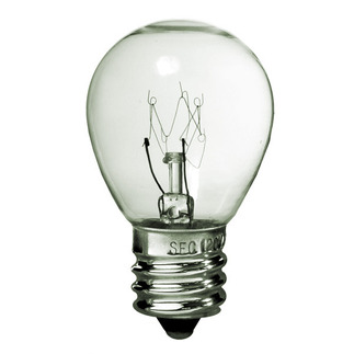 25 Watt - S11 - Clear - 130 Volt - Intermediate Base - Party Light Bulb - Premium Quality Brand