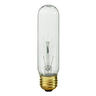 40 Watt - T10 - 120 Volt - Medium Base - Tubular Light Bulb - Satco S3252