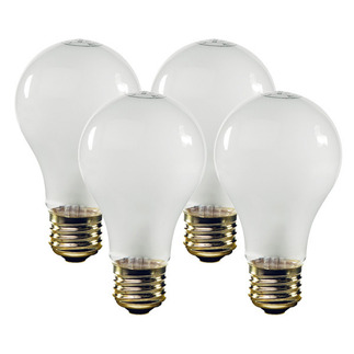 67 Watt - Frosted - Energy Efficient A19 Light Bulb - Medium Base - 120 Volt - 1,500 Life Hours - Satco S4462