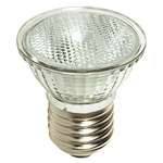 50 Watt - MR16 - 120 Volt - EXN Medium Flood - Glass Face - Medium Base - Halogen Light Bulb - Satco S4625