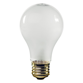 25 Watt - Frosted - A19 Light Bulb - 34 Volt - 1,500 Life Hours - Satco S5020