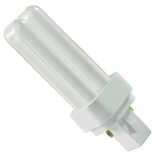 Satco S6315 - CFD9W/830 - 9 Watt - 2 Pin G23-2 Base - 3000K - CFL Light Bulb plug in cfl