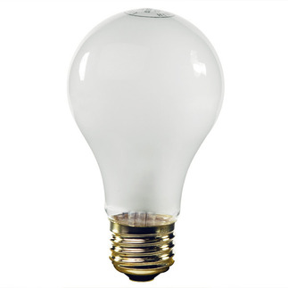 50 Watt - A19 - Frosted - 12 Volt - Incandescent Light Bulb - Satco S5011 12 Volt Light Bulb
