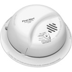 Carbon Monoxide Alarm - Detects CO Hazard - 120V Wire-in with Battery Backup - Interconnectable - BRK CO5120BN