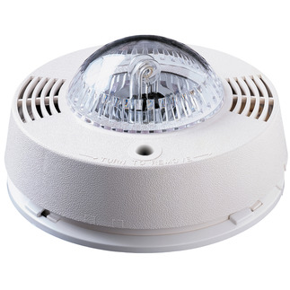 Strobe Light for Hearing Impaired - 120V - Interconnectable with Smoke and Carbon Monoxide Alarms - BRK SL177