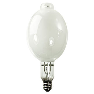 GE 41827 - 1000 Watt - BT56 - Multi-Vapor - Metal Halide - Unprotected Arc Tube - 3700K - ANSI M47 - Universal Burn - MVR1000/C/U