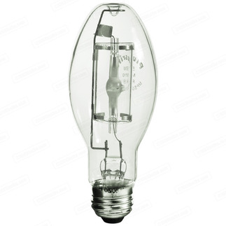 175 Watt - ED17 - Metal Halide - Green Colorite Series - Medium Base - Universal Burn - Ushio 5001454 ED17  Metal Halide