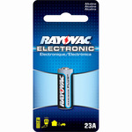 Alkaline Battery - 12 Volt - For Keyless Entry and Remote Controls - 23A Size - Rayovac KE23A-1