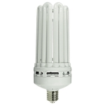 100 Watt - 5U CFL - 500 W Equal - Mogul Base - 5000K Full Spectrum - Min. Start Temp. 0 Deg. F - 84 CRI - 69 Lumens per Watt - 12 Month Warranty - MaxLite 35840 CFL Light Bulb