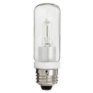250 Watt - T10 - Clear - Halogen - 120 Volt - Medium Base - Tubular Light Bulb - Satco S3475