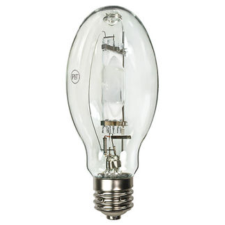400 Watt - ED28 - Metal Halide - Reduced Envelope - Unprotected Arc Tube - 4000K - ANSI M59/E - Universal Burn - MH400W/U/ED28 - Precision Lighting and Transformer 9486544 ED28 Metal Halide