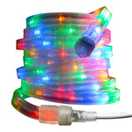 LED - Multi-Color - 120 Volt - Flat Rope Light - 12 ft.