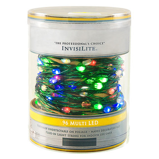 96 LED InvisiLite String Light Multi-Color