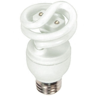 13 Watt - CFL with LED Night Light - 60 W Equal -  2700K Warm White - Min. Start Temp. 0 Deg. F - 61 Lumens per Watt - 15 Month Warranty - Satco S7325 13W cfl and led combo