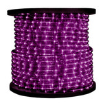 Purple 1/2 in. 120 Volt Chasing Incandescent Rope Light 200 ft. Spool