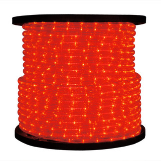 Red 1/2 in. 120 Volt Chasing Incandescent Rope Light 200 ft. Spool