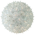 (100 Bulbs) Clear - 120 Volt - Christmas Starlight Sphere - 7.5 in. Diameter - GKI Bethlehem 724700