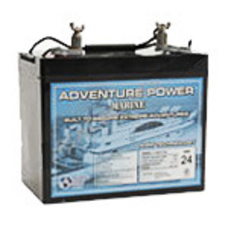 SLA UPG UB12750 (Group 24) - AGM Battery - Sealed Lead Acid - 12 Volt - 75 Ah Capacity - Marine Post Terminal