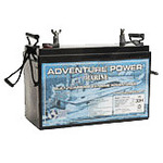 SLA UPG UB121100 (Group 30H) - AGM Battery - Sealed Lead Acid - 12 Volt - 110 Ah Capacity - Marine Post Terminal