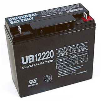 SLA UPG UB12220 - AGM Battery - Sealed Lead Acid - 12 Volt - 22 Ah Capacity - T4 Terminal