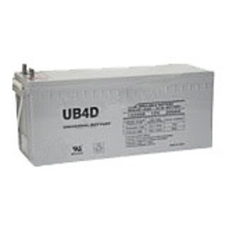 SLA UPG UB-4D GEL - AGM Battery - Sealed Lead Acid - 12 Volt - 180 Ah Capacity - L4 Terminal
