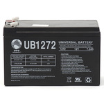 SLA UPG UB1272 - AGM Battery - Sealed Lead Acid - 12 Volt - 7.2 Ah Capacity - F1 Terminal