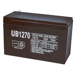 SLA UPG UB1270 - AGM Battery - Sealed Lead Acid - 12 Volt - 7 Ah Capacity - F1 Terminal