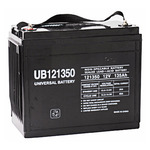 SLA UPG UB121350 - AGM Battery - Sealed Lead Acid - 12 Volt - 135 Ah Capacity - I6 Terminal
