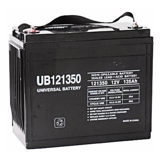 SLA UPG UB121350 - AGM Battery - Sealed Lead Acid - 12 Volt - 135 Ah Capacity - I6 Terminal