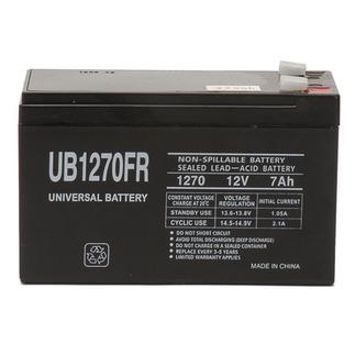 SLA UPG UB1270FR - AGM Battery - Sealed Lead Acid - 12 Volt - 8 Ah Capacity - F2 Terminal