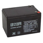SLA UPG UB12120FR - AGM Battery - Sealed Lead Acid - 12 Volt - 12 Ah Capacity - F2 Terminal