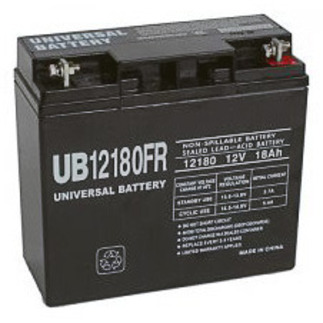 SLA UPG UB12180FR - AGM Battery - Sealed Lead Acid - 12 Volt - 18 Ah Capacity - T4 Terminal