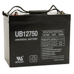 SLA UPG UB12750 (Group 24) - AGM Battery - Sealed Lead Acid - 12 Volt - 75 Ah Capacity - I4 Terminal