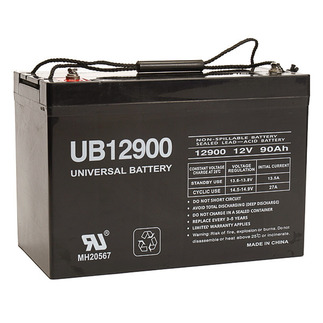 SLA UPG UB12900 (Group 27) - AGM Battery - Sealed Lead Acid - 12 Volt - 90 Ah Capacity - I4 Terminal