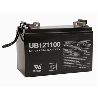 SLA UPG UB121100 (Group 30H) - AGM Battery - Sealed Lead Acid - 12 Volt - 110 Ah Capacity - L3 Terminal