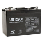 SLA UPG UB12900 (Group 27) - AGM Battery - Sealed Lead Acid - 12 Volt - 90 Ah Capacity - Z1 Terminal