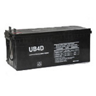 SLA UPG UB-4D AGM - AGM Battery - Sealed Lead Acid - 12 Volt - 200 Ah Capacity - L4 Terminal