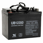 SLA UPG UB12350 (Group U1) - AGM Battery - Sealed Lead Acid - 12 Volt - 35 Ah Capacity - I2 Terminal