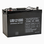 SLA UPG UB121000 (Group 27) - AGM Battery - Sealed Lead Acid - 12 Volt - 100 Ah Capacity - Z1 Terminal
