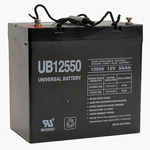 SLA UPG UB12550 (Group 22NF) - AGM Battery - Sealed Lead Acid - 12 Volt - 55 Ah Capacity - I4 Terminal