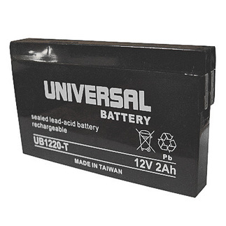 SLA UPG UB1220-T - AGM Battery - Sealed Lead Acid - 12 Volt - 2 Ah Capacity - ST Terminal