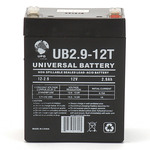 SLA UPG UB1229T - AGM Battery - Sealed Lead Acid - 12 Volt - 2.9 Ah Capacity - F1 Terminal