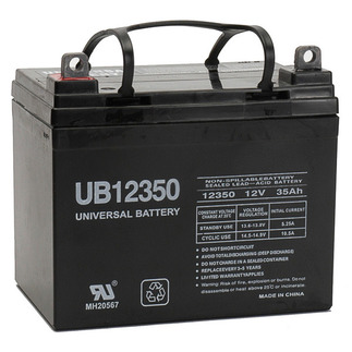 SLA UPG UB12350 (Group U1) - AGM Battery - Sealed Lead Acid - 12 Volt - 35 Ah Capacity - L1 Terminal