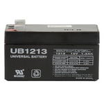 SLA UPG UB1213 - AGM Battery - Sealed Lead Acid - 12 Volt - 1.3 Ah Capacity - F1 Terminal