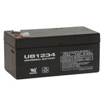 SLA UPG UB1234 - AGM Battery - Sealed Lead Acid - 12 Volt - 3.4 Ah Capacity - F1 Terminal
