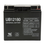 SLA UPG UB12180 - AGM Battery - Sealed Lead Acid - 12 Volt - 18 Ah Capacity - T4 Terminal