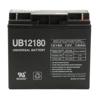 SLA UPG UB12180 - AGM Battery - Sealed Lead Acid - 12 Volt - 18 Ah Capacity - T4 Terminal