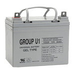 SLA UPG U1 GEL - AGM Battery - Sealed Lead Acid - 12 Volt - 32 Ah Capacity - L1 Terminal