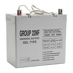 SLA UPG UB-22NF GEL - AGM Battery - Sealed Lead Acid - 12 Volt - 60 Ah Capacity - Z1 Terminal
